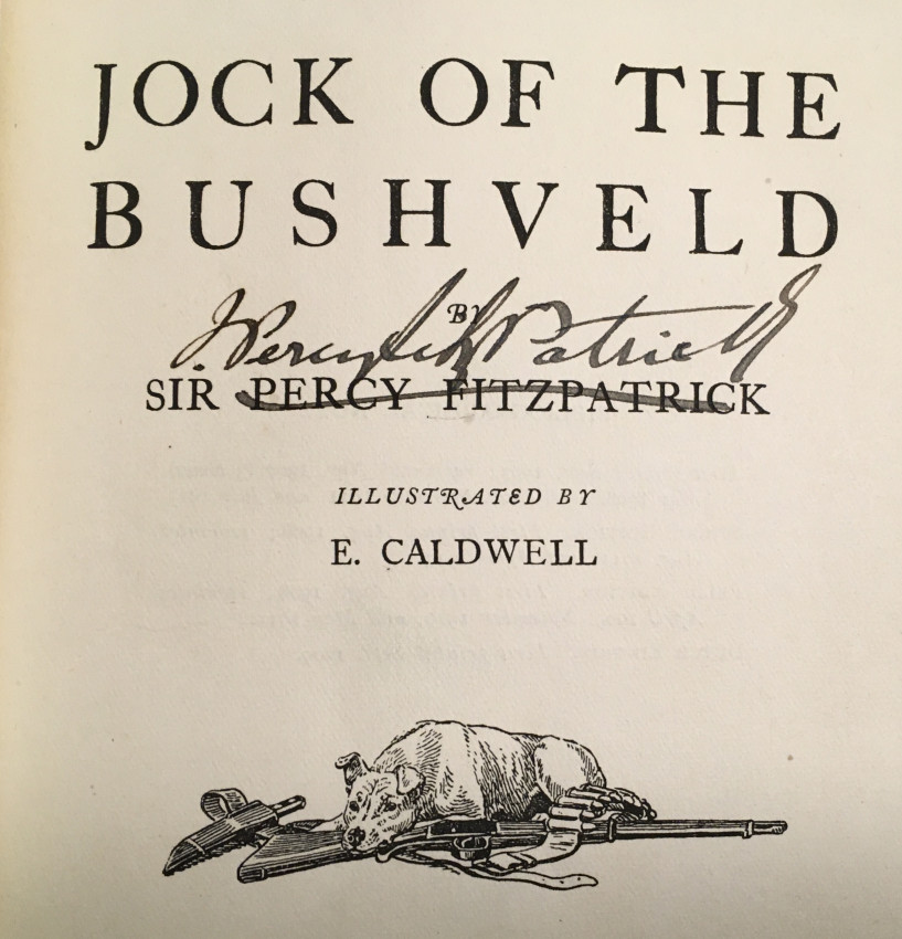 Jock of the Bushveld (SIGNED)