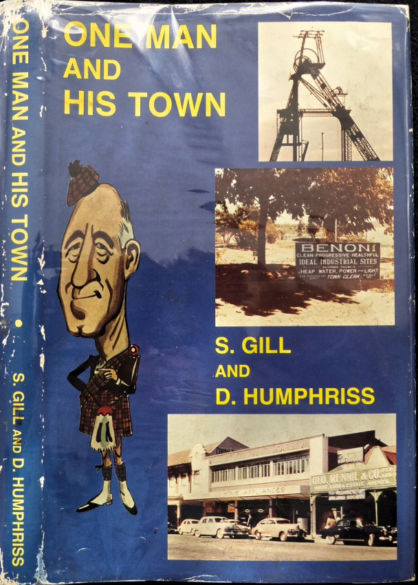 ONE MAN AND HIS TOWN (Inscribed by Morris Nestadt (Mr Benoni) and authors)