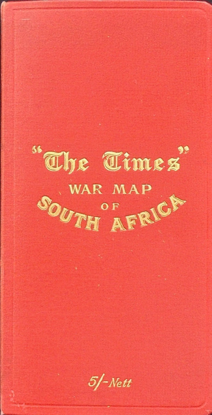 WAR MAP OF SOUTH AFRICA