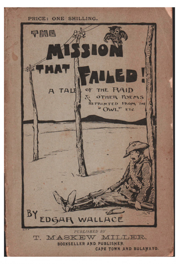 THE MISSION THAT FAILED (Author's first book)
