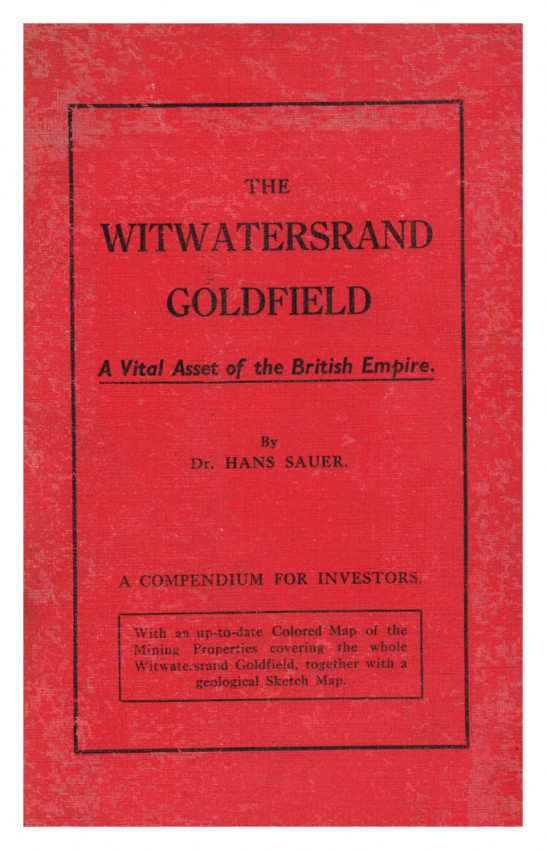THE WITWATERSRAND GOLDFIELD