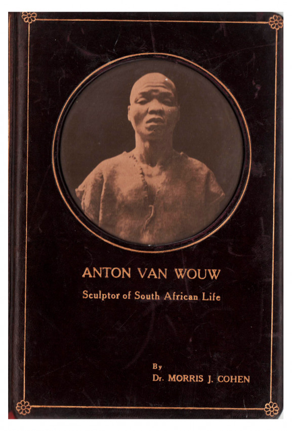 ANTON VAN WOUW  (Signed by the artist and the author)