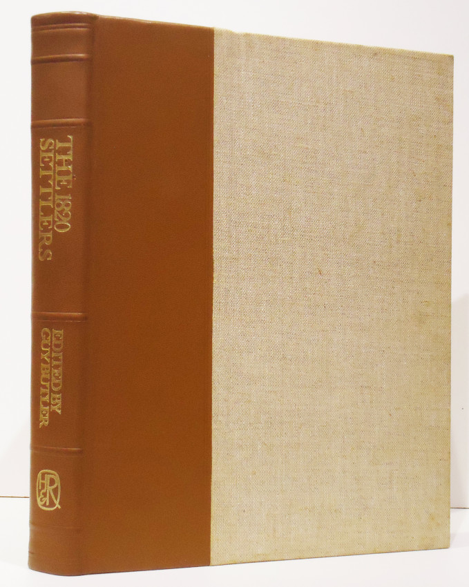 THE 1820 SETTLERS (De Luxe Edition signed by the author)
