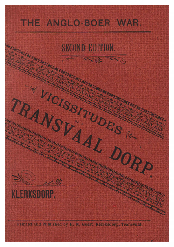 VICISSITUDES OF A TRANSVAAL DORP;