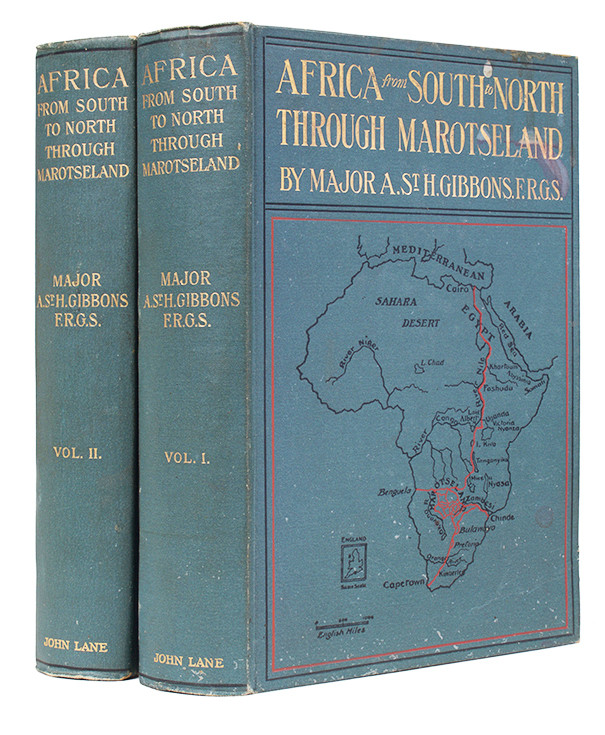 AFRICA FROM SOUTH TO NORTH THROUGH MAROTSELAND