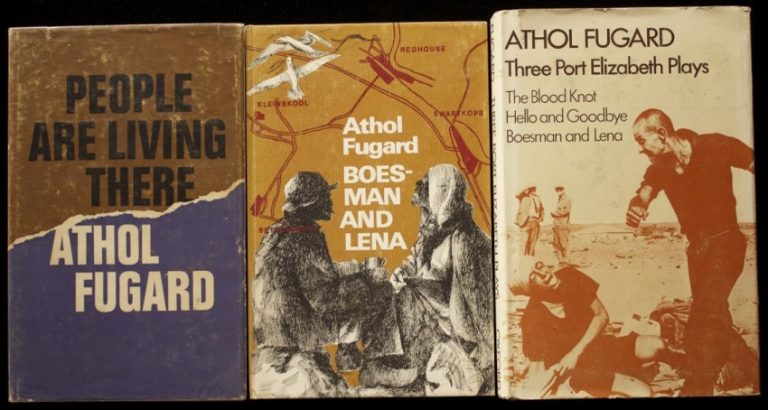 Three Early Inscribed & Period Signed First Editions by the Renowned South African Playwright