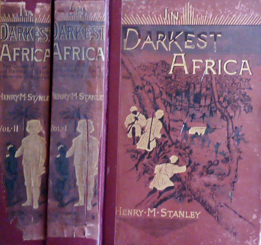In Darkest Africa or the Quest, Rescue and Retreat of Emin, Governor of Equatoria (2 vols,1890)