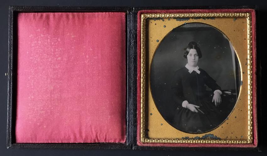 Portrait of Charlotte Hotchkiss