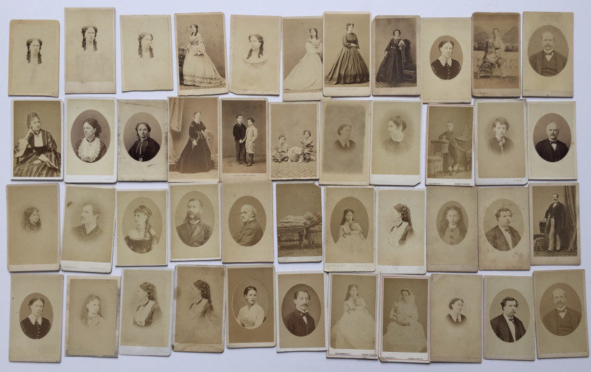 CDV collection. Wilson Eyer family, Consul in Venice during the period of Italian unification.