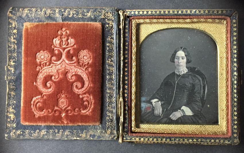 Portraits of two women and two young men