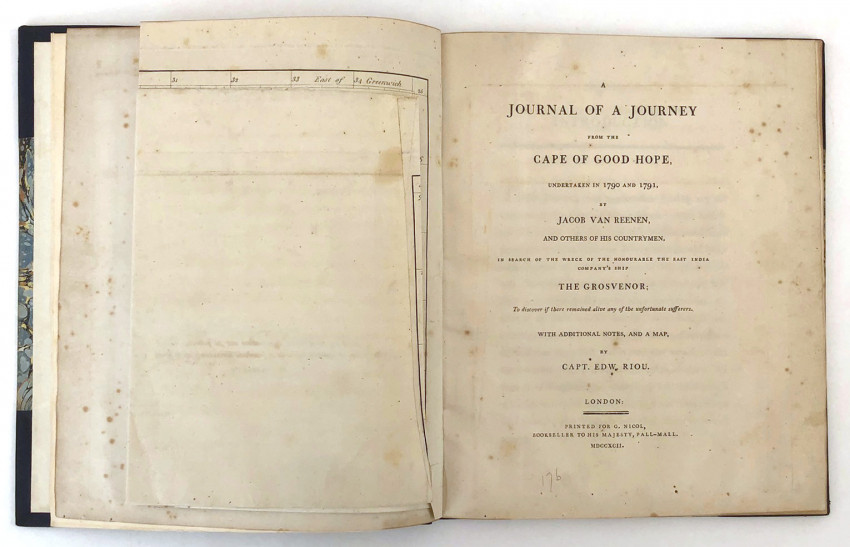 A JOURNAL OF A JOURNEY FROM THE CAPE OF GOOD HOPE UNDERTAKEN IN 1790 AND 1791