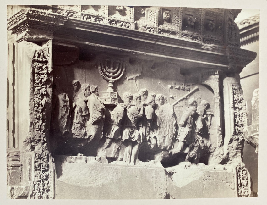 Interior of the Arch of Titus