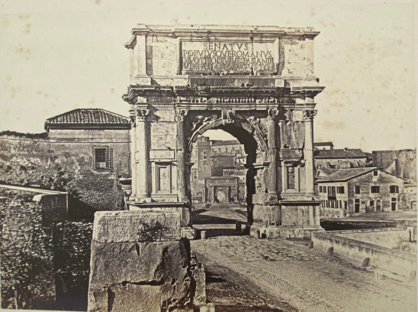 Arch of Titus. Rome