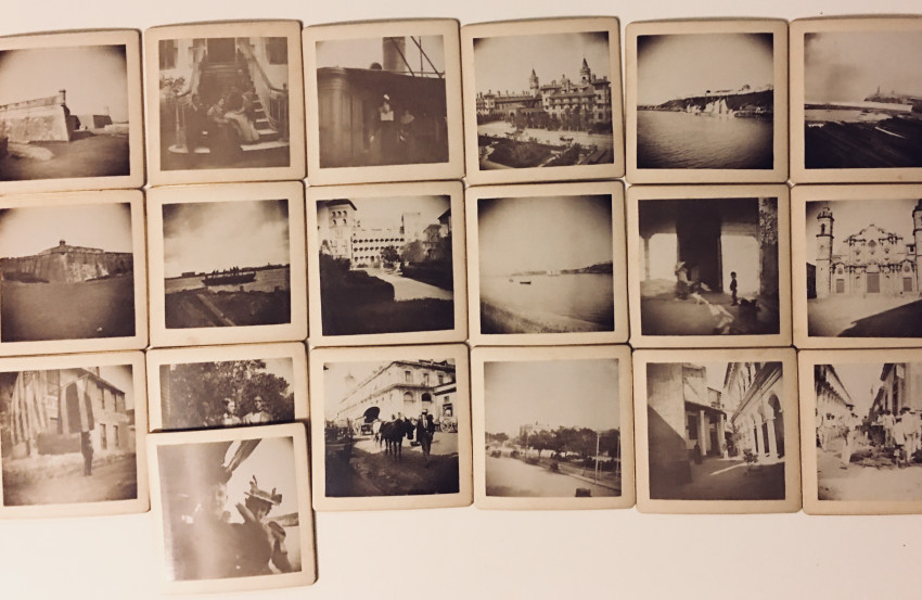 Early mounted images of Cuba