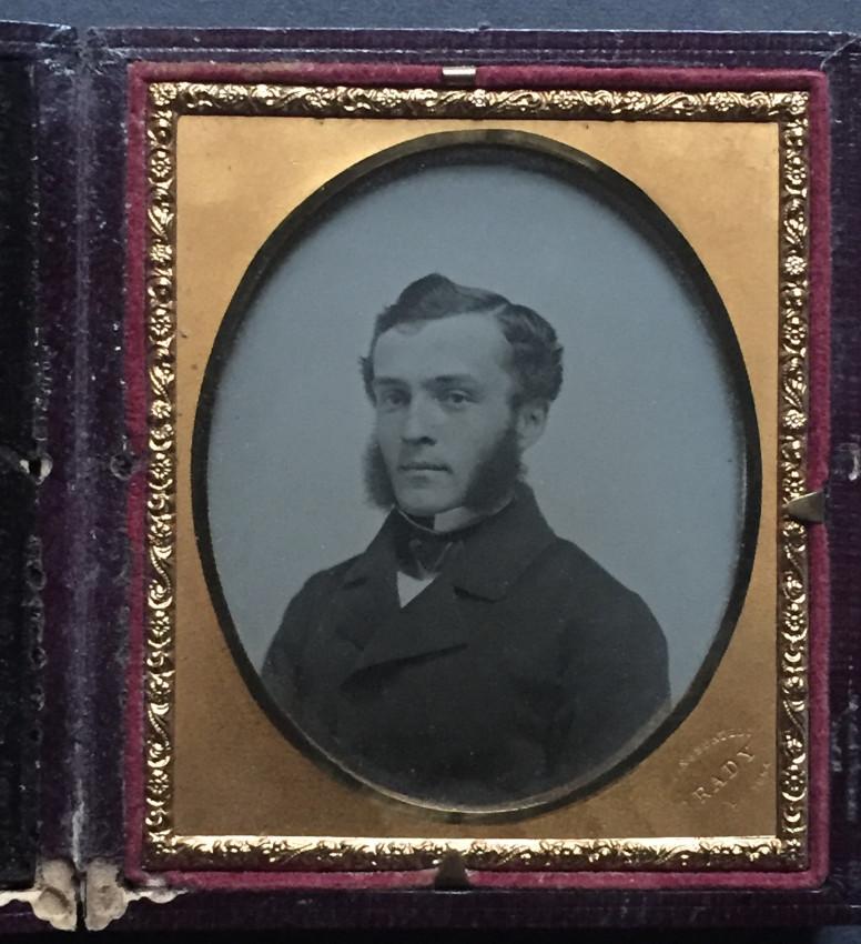 Fine portrait of a young man