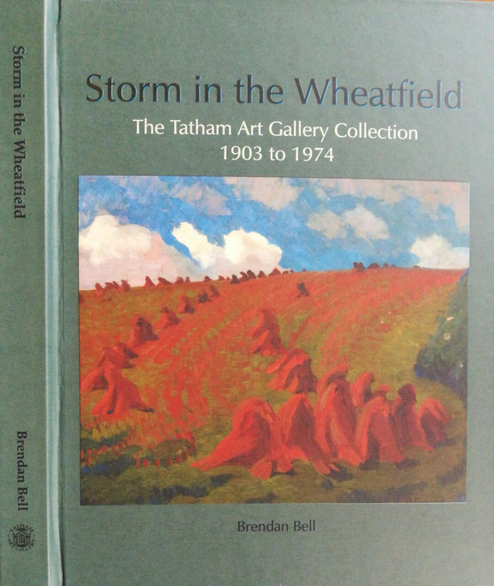 Storm in the Wheatfield. The Tatham Art Gallery Collection 1903 to 1974