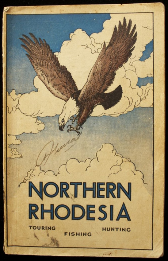 NORTHERN RHODESIA - Official Handbook - Touring, Fishing, Hunting (1938)