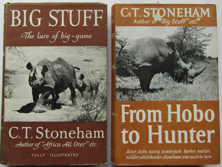 Big Stuff; African Big Game And Its Hunters & From Hobo to Hunter