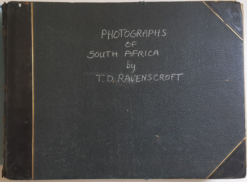 100 Original photographs of South Africa by the famous early photographer  T.D. Ravenscroft of Rondebosch.