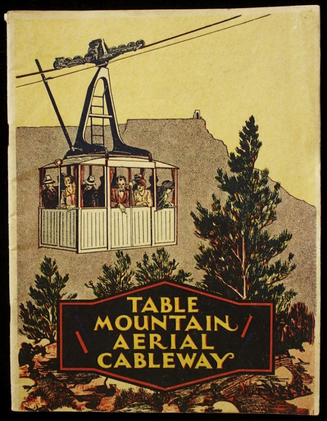 Official Souvenir and Guide of the Table Mountain Aerial Cableway, Cape Town (First Official Guide Book, 1929)