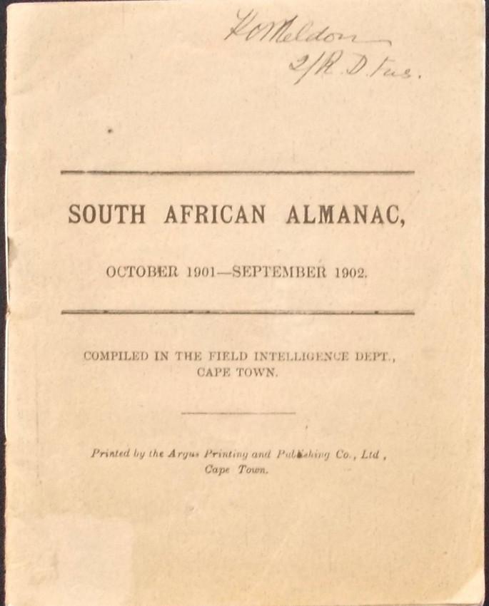 SOUTH AFRICAN ALMANAC