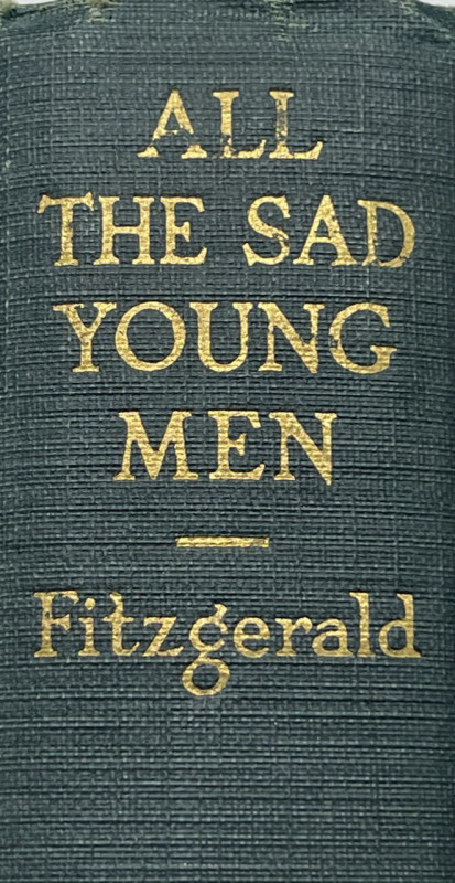 2 early First Editions by F. Scott FITZGERALD