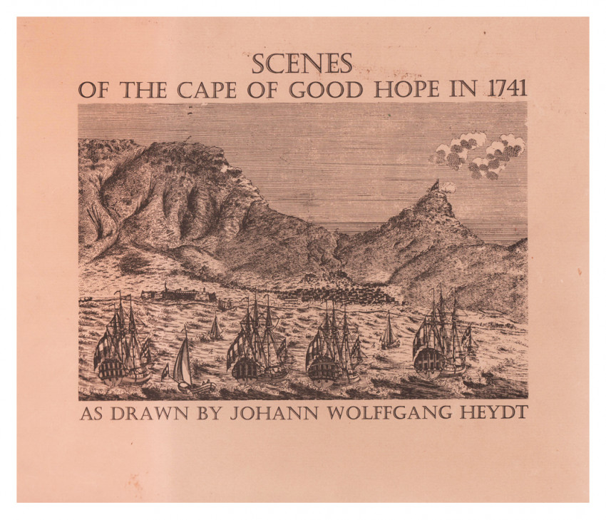 SCENES OF THE CAPE OF GOOD HOPE IN 1741