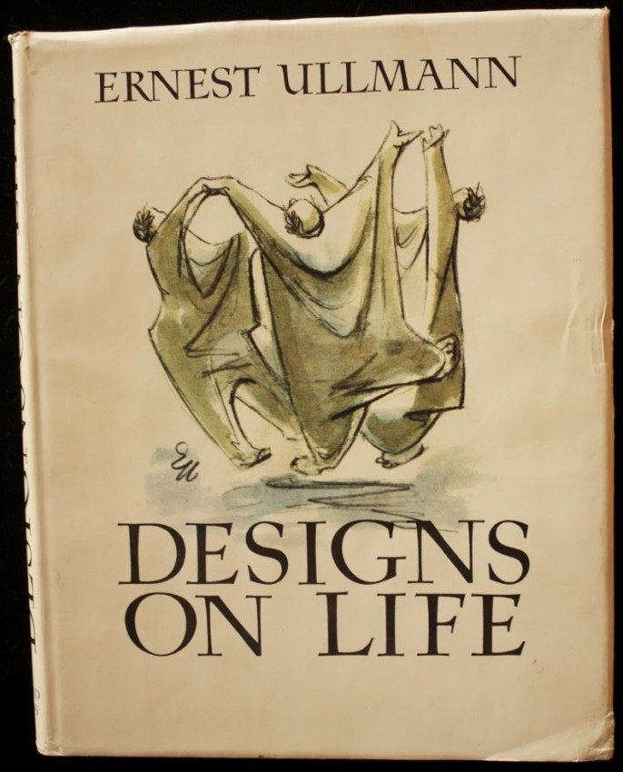 DESIGNS ON LIFE - edition limited to 100 copies with original signed etching