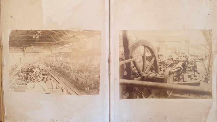 MINING DIAMOND KIMBERLEY  - ALBUM OF DE BEERS COMPOUND MINE IN KIMBERLEY 1880
