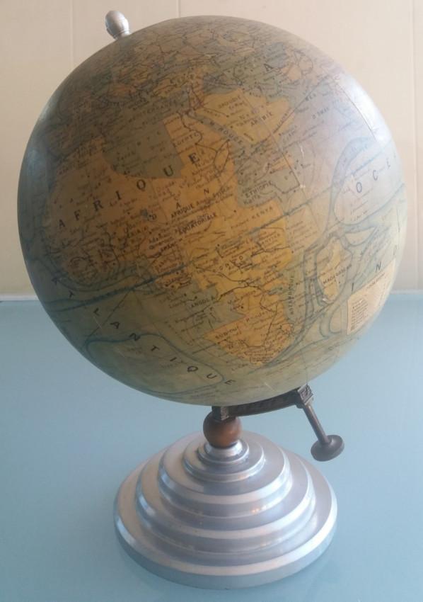 French globe 1930s.