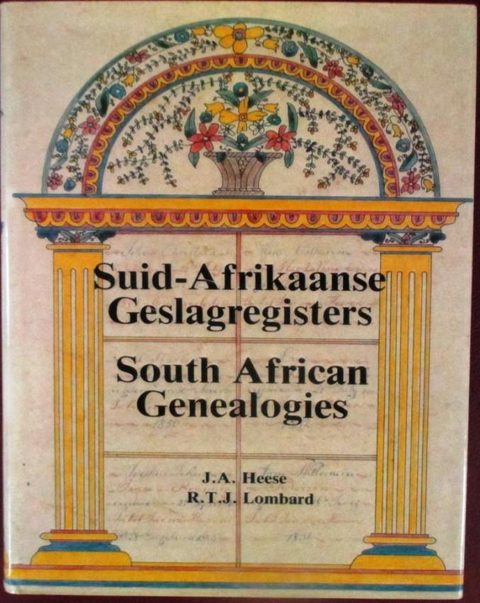 Suid-Afrikaanse Geslagregisters South African Genealogies  (Volumes 1 to 5)