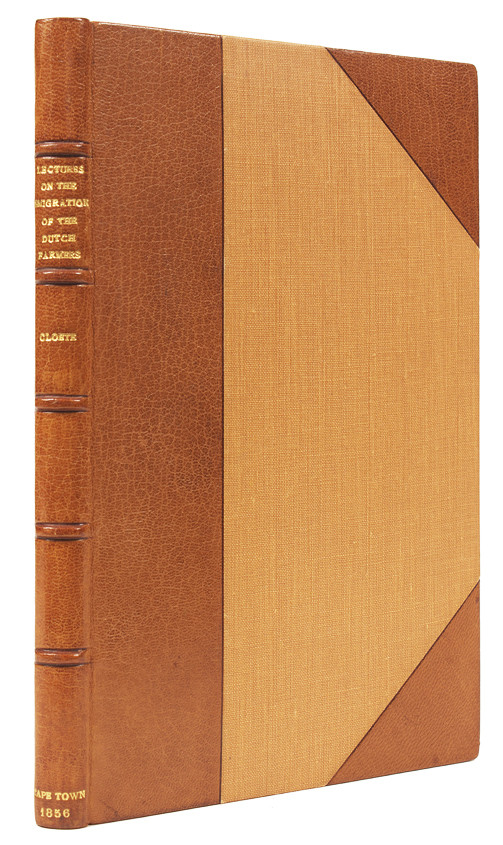 FIVE LECTURES ON THE EMIGRATION OF THE DUTCH FARMERS FROM THE COLONY OF THE CAPE OF GOOD HOPE