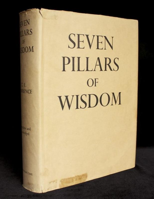 SEVEN PILLARS OF WISDOM - first trade edition in original dust jacket (1935)