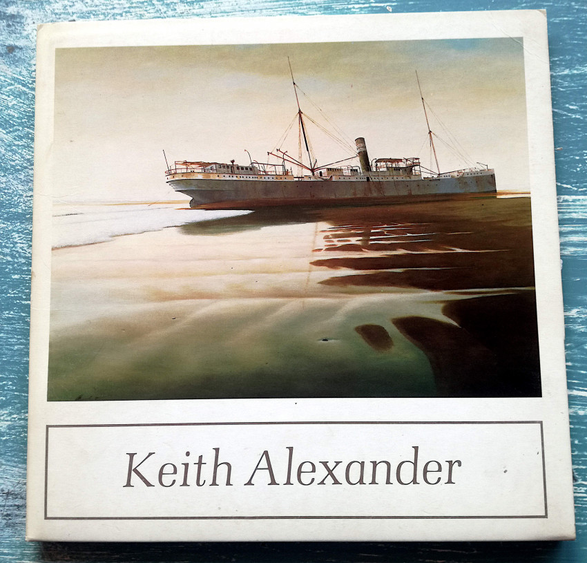 Keith Alexander Lot - TWO items - Book and Catalogue