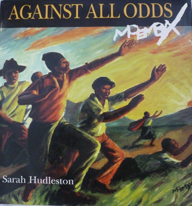 AGAINST ALL ODDS  ( Signed by Author and Artist (George Pemba)