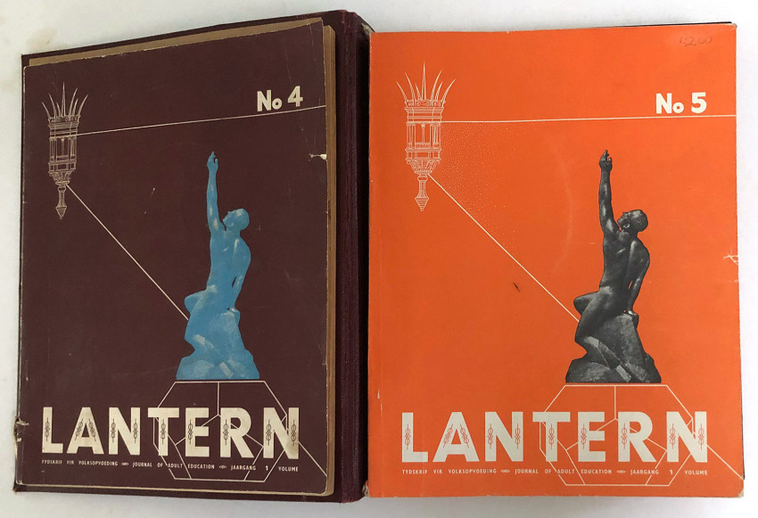 LANTERN - JOURNAL OF ADULT EDUCATION. SIX OF THE FIRST NINE ISSUES