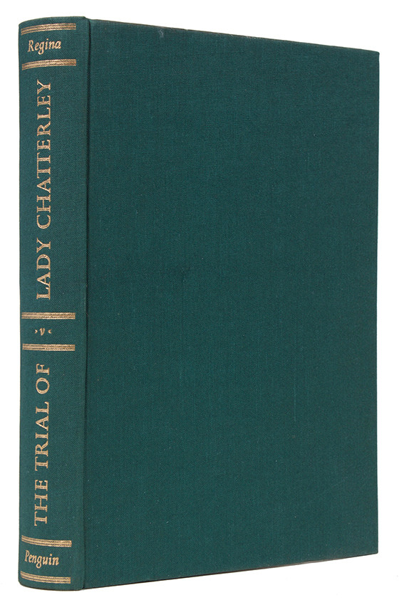THE TRIAL OF LADY CHATTERLEY (Signed by Allen Lane)