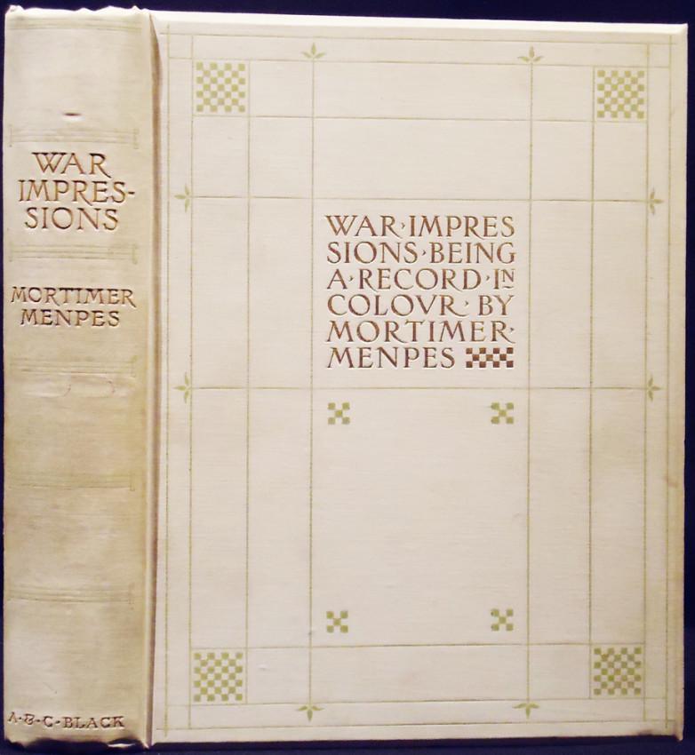 WAR IMPRESSIONS (Edition De Luxe, the engraver's copy)