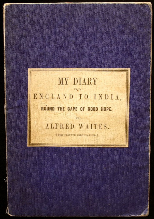 My Diary from England to India, round the Cape of Good Hope (1865)