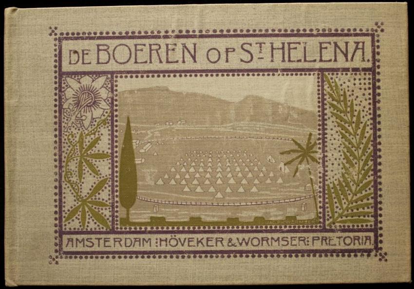 """De Boeren Op St Helena """"The Boers on St Helena"""" (1902)"""