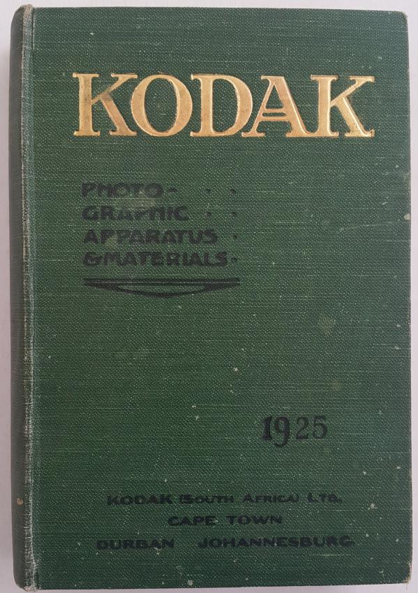 Kodak General Catalogue 1925.