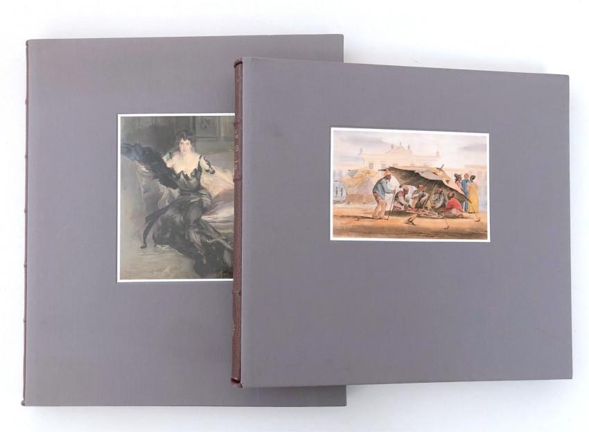 TWO FERNWOOD PRESS COLLECTOR'S DE-LUXE  ART TITLES