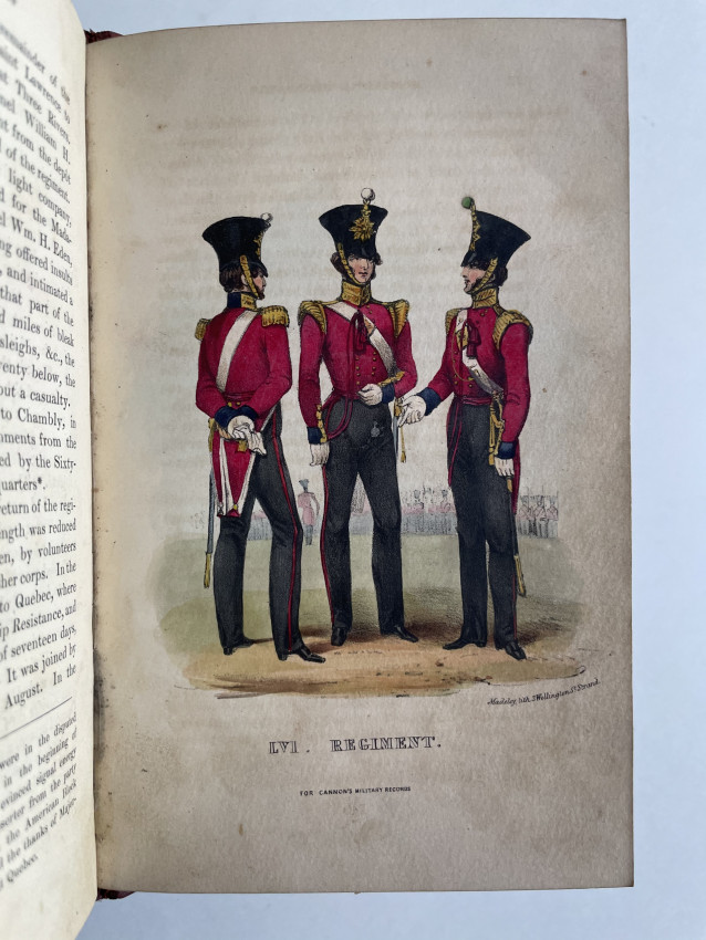 Historical Record of the Fifty - Sixth, or the West Essex Regiment of Foot