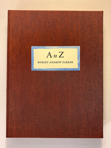 [A to Z hand-colored drawings by Robert Andrew Parker]
