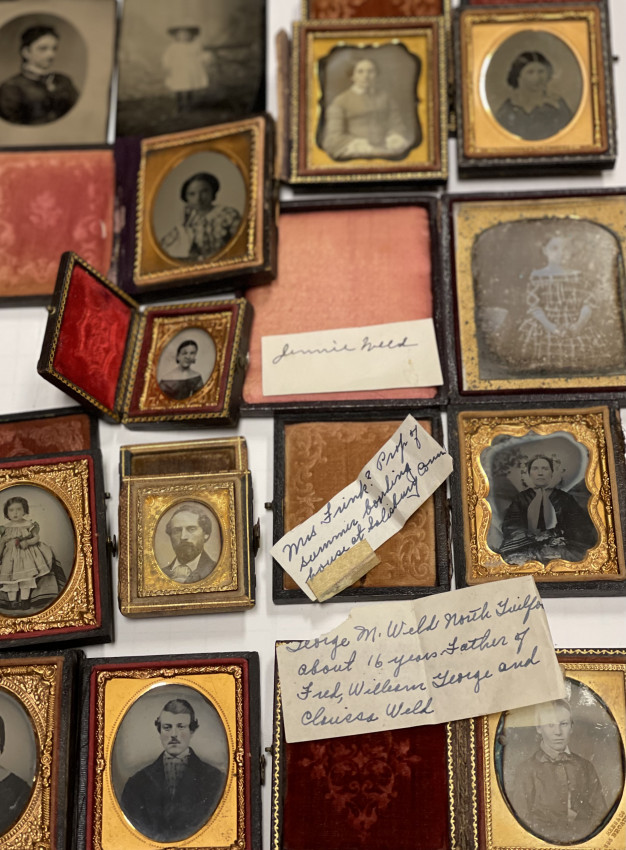 (PHOTO ARCHIVE) Early Photography— dags, tintypes, CDV's & cased images