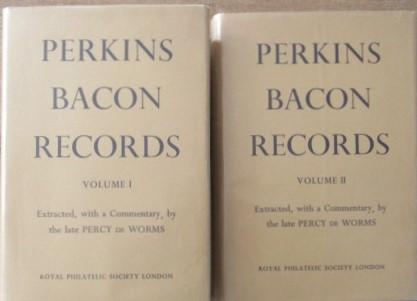 Perkins Bacon Records. Volume 1 & 2.