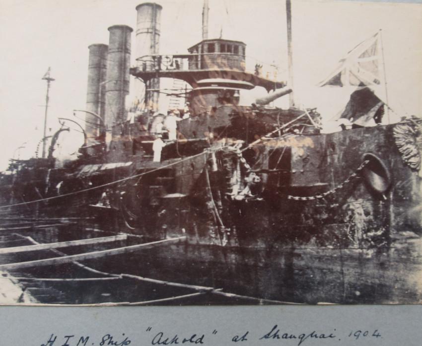 Photographic Album containing 71 rare photographs serving c 1890's through to c 1910- Boxer Rebellion & Russian Japanese War