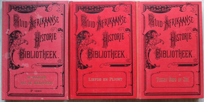 3 x Zuid-Afrikaanse Historie Biblioteek titels