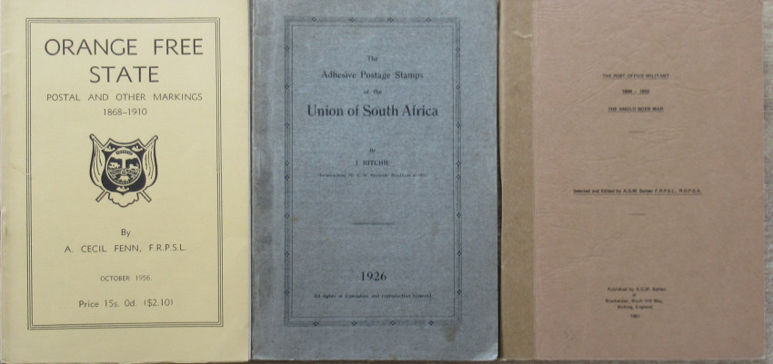 Seven South African Postal History Booklets