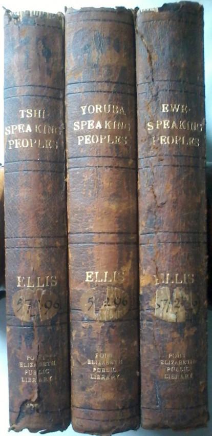 The Ewe-Speaking Peoples, The Yoruba-Speaking People,The Tshi-Speaking People.